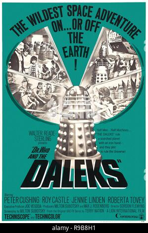 Original film title: DR. WHO AND THE DALEKS. English title: DR. WHO AND THE DALEKS. Year: 1965. Director: GORDON FLEMYNG. Credit: CONTINENTAL DISTRIBUTING / Album - Stock Photo