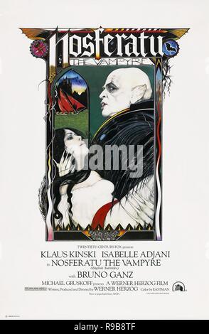 Original film title: NOSFERATU: PHANTOM DER NACHT. English title: NOSFERATU THE VAMPYRE. Year: 1979. Director: WERNER HERZOG. Credit: WERNER HERZOG FILMPRODUKTION / Album