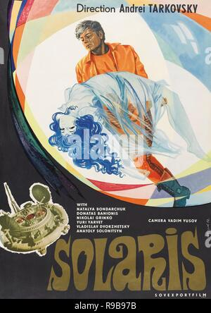Original film title: SOLYARIS. English title: SOLARIS. Year: 1972. Director: ANDREI TARKOVSKY. Credit: MOSFILM / Album - Stock Photo