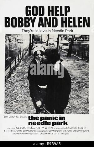 Original film title: THE PANIC IN NEEDLE PARK. English title: THE PANIC IN NEEDLE PARK. Year: 1971. Director: JERRY SCHATZBERG. Credit: GADD PRODUCTIONS / Album - Stock Photo