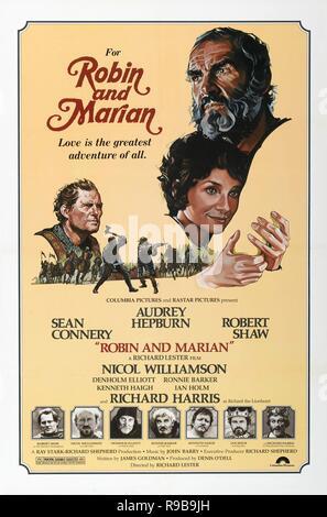 Original film title: ROBIN AND MARIAN. English title: ROBIN AND MARIAN. Year: 1976. Director: RICHARD LESTER. Credit: COLUMBIA PICTURES / Album - Stock Photo