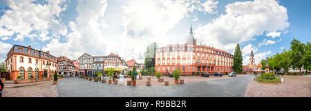 Castle, Erbach, Germany - Stock Photo
