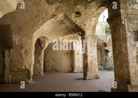 Church of the Holy Spirit. Old rock church in Matera, Basilicata. Italy
