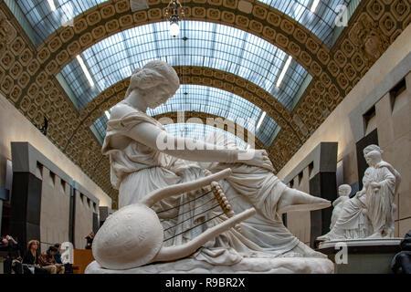 France. Paris (75), 7th Arrondissement. Orsay Museum - Stock Photo