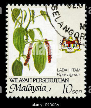 Postage stamp from Malaysia in the Wilayah Persekutuan series issued in 2002 - Stock Photo