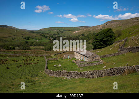 Arkengarthdale; Yorkshire Dales; UK - Stock Photo