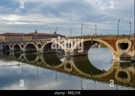 France. Haute-Garonne (31), Toulouse. The new bridge