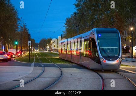 France. Haute-Garonne (31), Toulouse. The tram