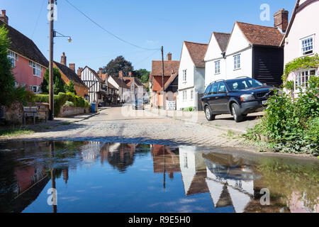 Kersey Ford, The Street, Kersey, Suffolk, England, United Kingdom - Stock Photo