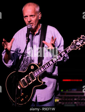 Peter Frampton performs in concert at the Bank Atlantic Center in Sunrise, Florida on October 21, 2006 - Stock Photo