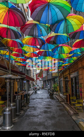 Istanbul, Turkey - a metropolis with an endless heritage, Istanbul presents numerous examples of modern arts and architecture - Stock Photo