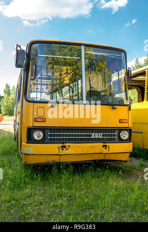 Historic bus front - Stock Photo