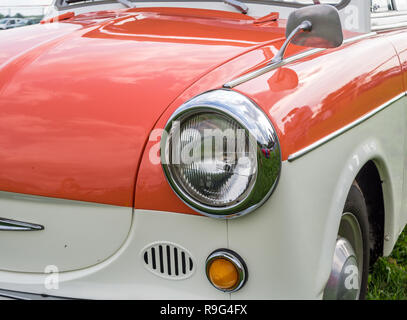 Old GDR classic car Trabant P50 - Stock Photo