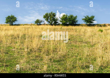 countryside landscapes in Val d'Agri, Basilicata - Stock Photo