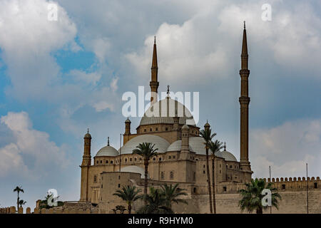 The Great Mosque of Muhammad Ali Pasha or Alabaster Mosque in Cairo, Egypt. - Stock Photo