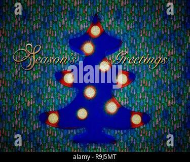 CHRISTMAS CONCEPT: Season's Greetings - Stock Photo