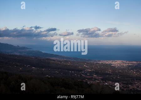 Sicilian panoramic views - Stock Photo