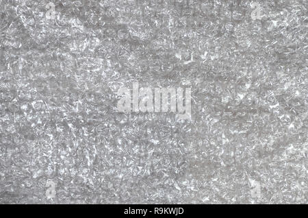 White bubble Wrap Packing Or Air Cushion material. Abstract Texture For Creative Art Work, Close Up dfckground, Top View with Copy Space