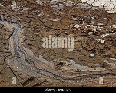 Badger Springs Wash Trail Arizona - Stock Photo