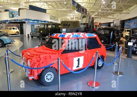 Lego Mini Cooper Car Stock Photo 179712768 Alamy