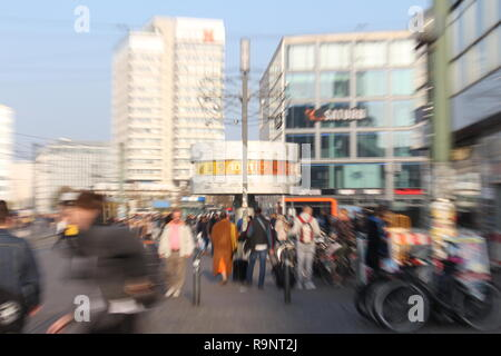 World Clock (Alexanderplatz) - Stock Photo