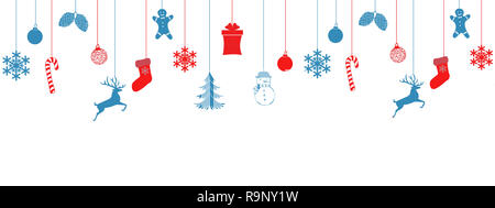 Christmas feer tree background Stock Vector Art