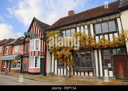 Sparling & Faiers Bakery, Market Place, Lavenham, Babergh district, Suffolk, East Anglia, England, Great Britain, United Kingdom, UK, Europe - Stock Photo