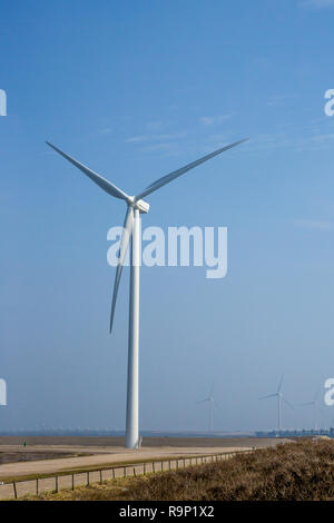 Dutch Windmills In The North Sea Stock Photo 64077675 Alamy