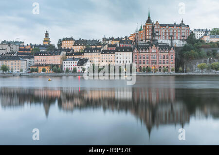Sodermalm in Stockholm, Sweden - Stock Photo
