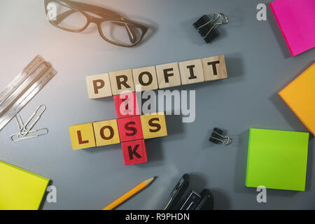 concept of financial risk in business and investment