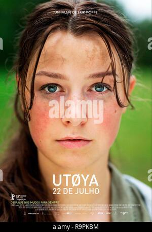 Prod DB © Paradox Film 7 / DR UTOYA, 22 JUILLET UTOYA,22. JULI de Erik Poppe 2018 NORV. affiche portugaise histoire vraie; true story; tuerie de masse - Stock Photo