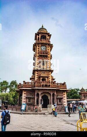 Ghanta Ghar (clock tower), Jodhpur - Stock Photo