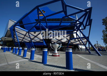 RAC Arena, Perth, Australia. 29th Dec, 2018. Hopman Cup Tennis, sponsored by Mastercard; General view of RAC Arena before the start of the Hopman Cup Credit: Action Plus Sports/Alamy Live News