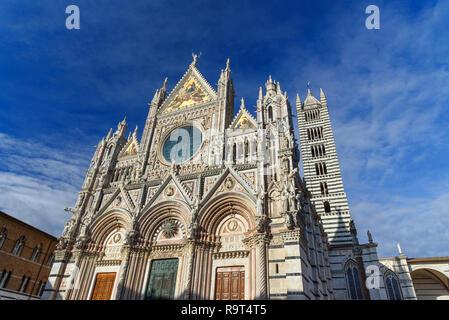 Siena Cathedral Santa Maria Assunta, Duomo di Siena. Tuscany, Italy
