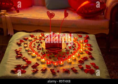 Romantic wedding anniversay  Decoration Ideas