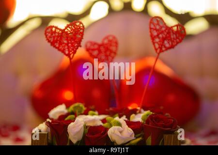 Romantic wedding anniversay  Decoration