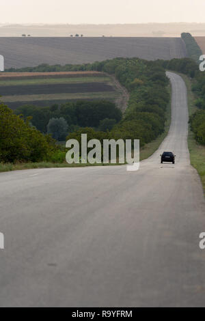 30.08.2016, Causeni, Rajon Causeni, Republik Moldau - Landstrasse. 00A160830D474CARO.JPG [MODEL RELEASE: NOT APPLICABLE, PROPERTY RELEASE: NOT APPLICA - Stock Photo
