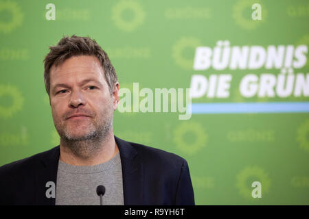 05.11.2018, Berlin, Deutschland - Robert Habeck, Bundesvorsitzender Buendnis 90/DIE GRUENEN. 00R181105D248CARO.JPG [MODEL RELEASE: NO, PROPERTY RELEAS - Stock Photo