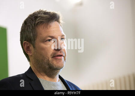 05.11.2018, Berlin, Deutschland - Robert Habeck, Bundesvorsitzender Buendnis 90/DIE GRUENEN. 00R181105D360CARO.JPG [MODEL RELEASE: NO, PROPERTY RELEAS - Stock Photo