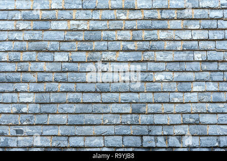 Background from tiles made of shale - Stock Photo