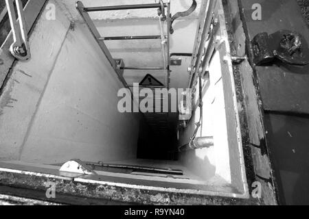 Nuclear Bunker - Stock Photo