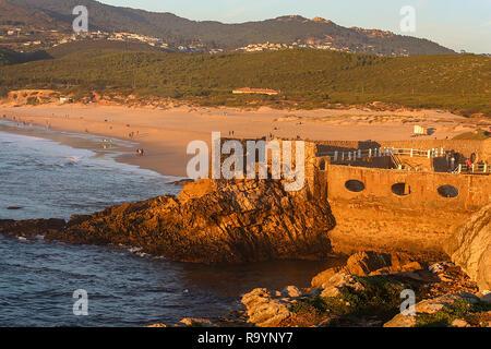 Guinho beach, a beautiful beach in Cascais, near Lisbon