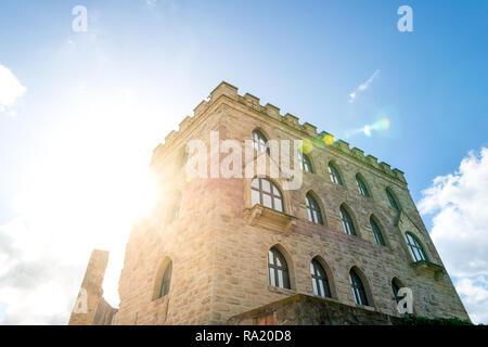 Hambach Castle, German Wine Street, Germany - Stock Photo