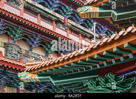 Po LIn Monastery Lantau Island, Hong Kong - Stock Photo