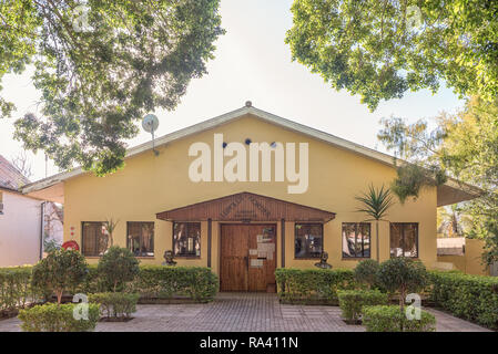 CLANWILLIAM, SOUTH AFRICA, AUGUST 28, 2018: The Leipoldt - Nortier Library in Clanwilliam in the Western Cape Province - Stock Photo