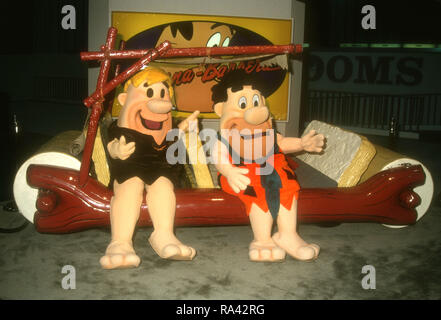 LAS VEGAS, NV - JULY 12: A general view of atmosphere of the Flintstones at the 12th Annual Video Software Dealers Association (VSDA) Convention and Expo on July 12, 1993 at the Las Vegas Convention Center in Las Vegas, Nevada. Photo by Barry King/Alamy Stock Photo - Stock Photo