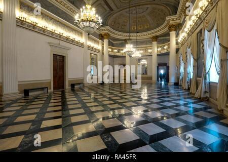 Hall, Museo Correr, Municipal Museum, San Marco Square, Piazza San Marco, Venice, Veneto, Italy - Stock Photo