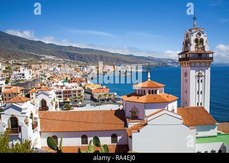Basilica de Nuestra Senora de Candelaria, Sanctuary, Candelaria, Tenerife, Canary Islands, Spain