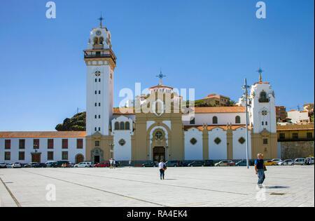 Basilica de Nuestra Senora de Candelaria, Sanctuary in Candelaria, Tenerife, Canary Islands, Spain