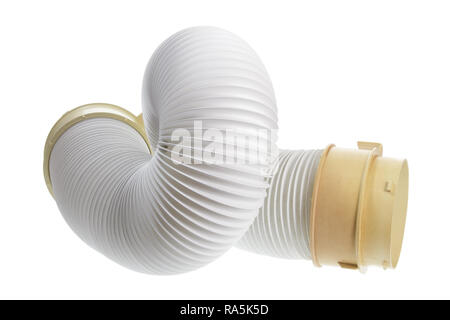 Air Conditioner Duct on White Background - Stock Photo